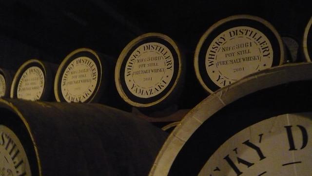 こういう樽がずらーーーっと並んでいる庫内を案内されました