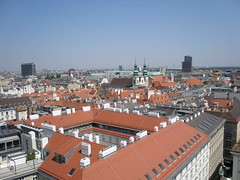 Vienna - view from the St. Stephen's Cathedral's south tower