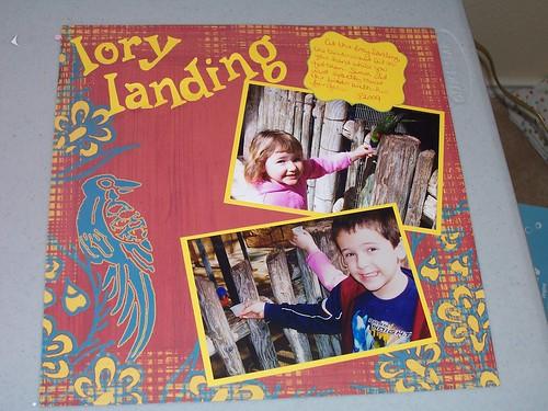 lorylanding