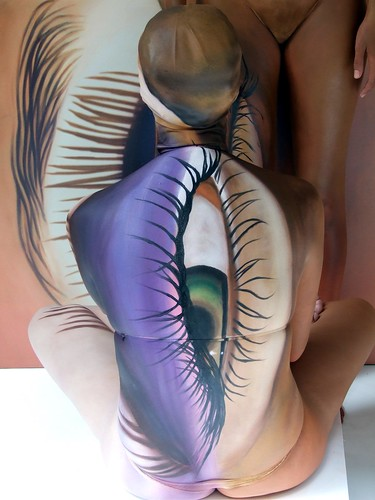Hawaiian Body Painting