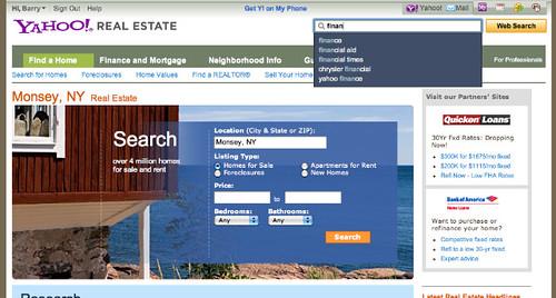 Yahoo Search Integration