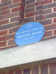 Photo of Theatre Royal, Great Yarmouth blue plaque