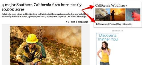 Los Angeles Times Living URLs