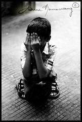 camera shy (Archana Ramaswamy) Tags: shy hide archanaramaswamy