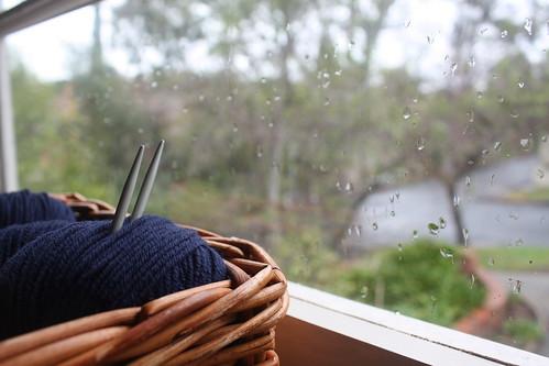 Wool + Rain