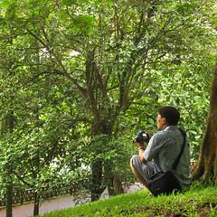 I'm in no hurry (mohn_nika) Tags: green singapore photographer singapur canonpowershota610 fortcanningpark mohnnika mohnika