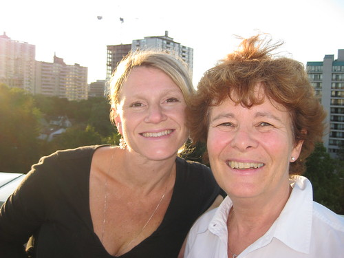 Anke and Bev Simpson