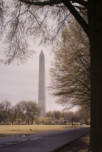 Washington D.C. - Washington Memorial - Infrared
