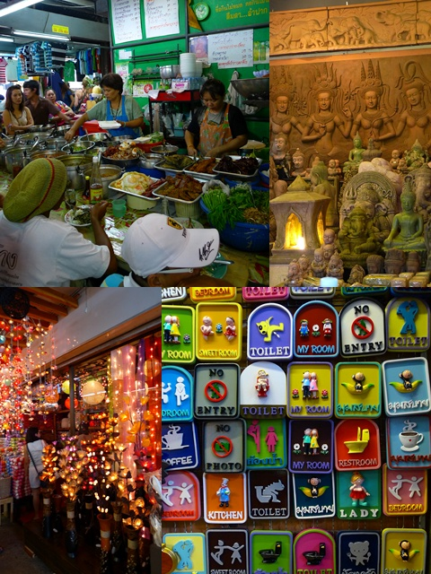 Collage Chatuchak