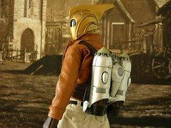 Retro Hero - Rocketeer (1/6th shooter) Tags: toys actionfigure rocketman disney hero figure superhero movies rocketeer theotherside sideshowtoys medicomtoys