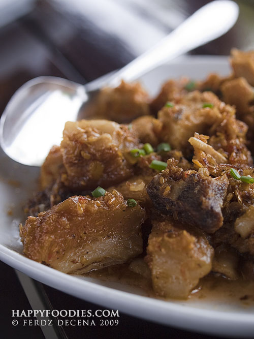 Crispy Pork Binagoongan (P160)