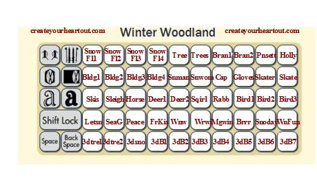 Winter Woodland Overlay
