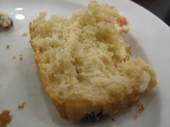 First slice the scone