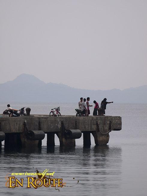 Virac Port Scene Fishing