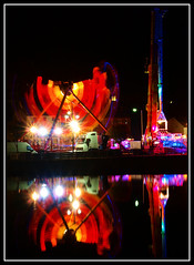 fairground reflections (bigsando) Tags: fair rood dumfries nith