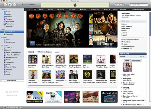 iTunes 9: New Store Interface