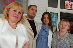 Команда администраторов и Евгения Тимошенко