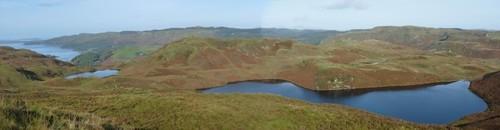 Loch Losgainn Beag and Loch a Mhinn, Kilmelford Hill Lochs, Copyright Brian Turner