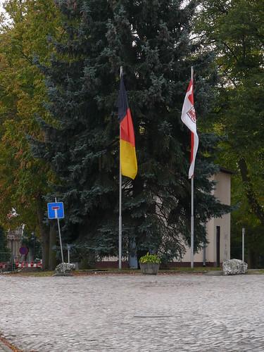 Flaggen zum Tag der Deutschen Einheit