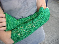 Emerald City Mitts