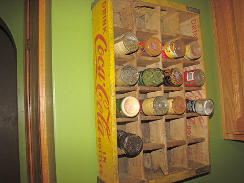 My new spice rack