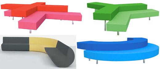 Modern Pop Art Furniture Designed By Nick Dine.