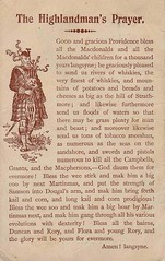 The Highlandman's Prayer 1907
