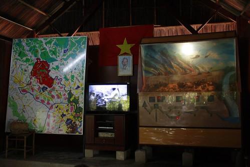 Ilustrasi terowongan dan map area