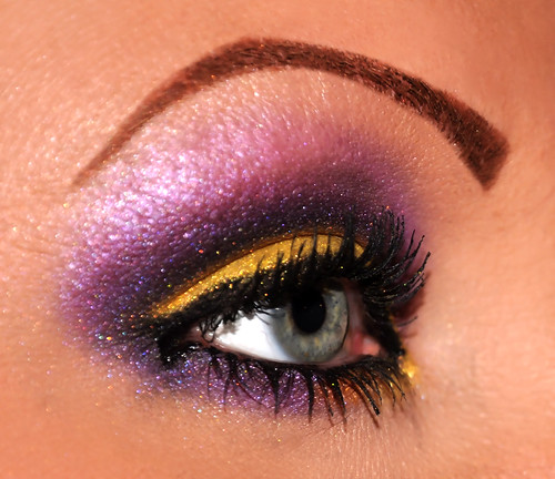 Purple and Gold 3