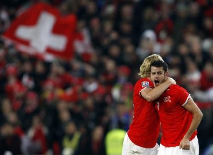 suisse qualifiée pour la coupe du monde