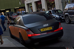 Maybach RRR (M.Basil) Tags: london united kingdom harrods knightsbridge rrr matte ajman maybach