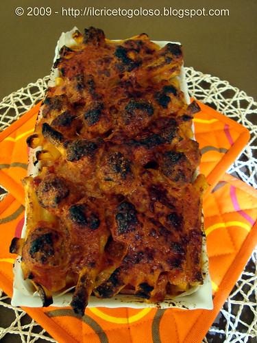 Pasta al forno 3
