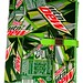 Journal made from Recycled Diet & Regular Mt Dew Labels