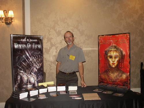 Chris Jackson at Necronomicon