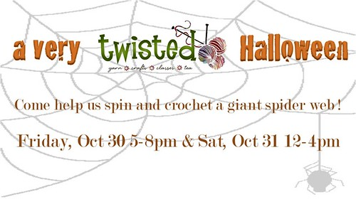 Twisted halloween banner