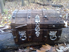 Treasure chest up close