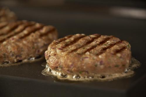 Grilling Aussie Burger