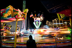 Blur of colour (imageglimpse) Tags: blur colour amsterdam festival night lumix merrygoround lx3
