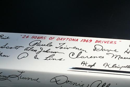 Bill France Signature Ford Talladega