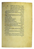 Table of contents from Michael Scotus: Liber physiognomiae
