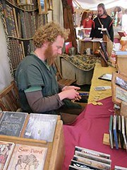 Middle Ages Festival moneychanger