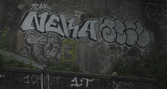 Neka 2 (Tonsils) Tags: uk london graffiti chrome graff dub bombing trackside tbf neka 1t nekah