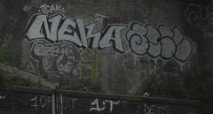 Neka 2 (Tonsils) Tags: uk london graffiti chrome graff dub bombing trackside tbf neka 1t nekah