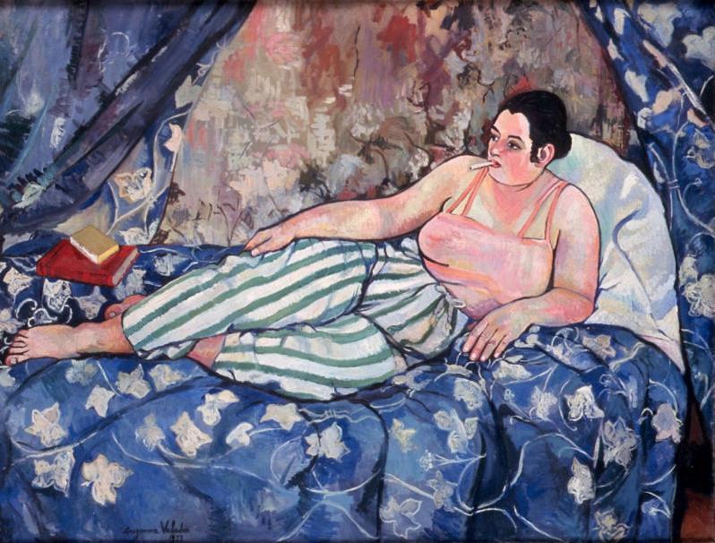 Suzanne Valadon - La chambre bleue