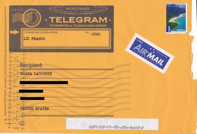 A Real Telegram