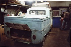 1966 Double Cab VW Bus Truck For Sale in Irving, Texas - Passenger Side Rear View