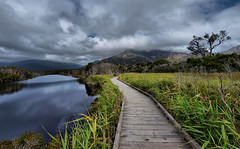 The Boardwalk (maureen_g) Tags: sky beauty clouds landscape scenery australia victoria wilsonspromontory 714mm fhdr olympuse510