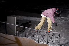 Fredrik Rasmussen, backlip (jawrr (ShotsByJawrr.com)) Tags: winter snow graveyard flash rail ef50mmf14 explore snowboard backside lightroom lipslide sb26 explored backlip strobist vnnes canoneos40d slightedit 430exii fredrikrasmussen vnnesby