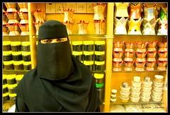Oman Salalah woman in Burka (jjay69) Tags: shopping eyes women gulf muslim islam middleeast hijab arabic arab covered niqab oman incense gcc islamic arabi arabwoman coveredface burka salalah sultanateofoman dhofar dhofarregion muslimcountry