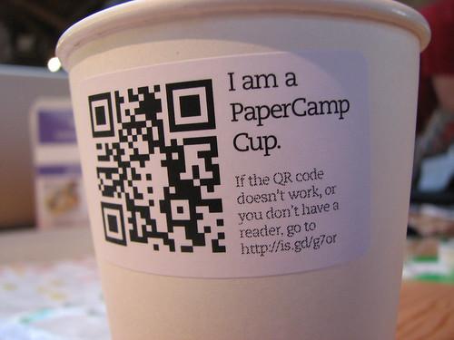 Un objet étiqueté et donc, connectable - photo Nicholas O'Leary